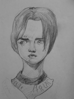 Arya Stark by marioferro