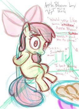 Apple Bloom_2014_01 by StreaksPsyche