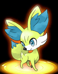 Shiny Fennekin by SoSaucy
