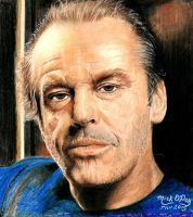 Jack Nicholson by marmicminipark