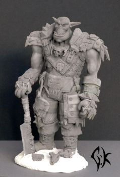 Grimloc Orc Sculp V1 by GhostofK