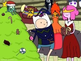 Adventure Time Christmas by Nachita99