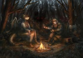 Secrets of the Forest by WingedZephyr