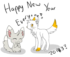 Happy New Year 2013! by Starlightmist
