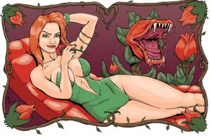 Poison Ivy in the garden by shinlyle