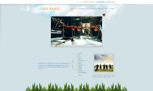 Teo Band home page by anca-v