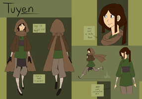Tuyen by hyperionwitch
