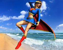 Supergirl by Daniel-Remo-Art