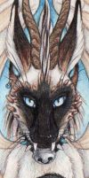 Kace Bookmark by Goldenwolf