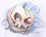 Smashed Pumpkin by ascer