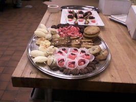 Cookie and Petit Fours Spreads by AlyceThePirate