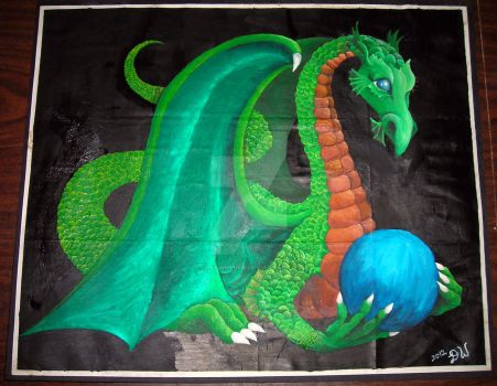 A Dragon for Bud. by DianaWerner