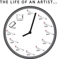 The Life of an Artist... by GibbyGibson