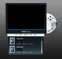Vcat media player design 03 by MeGoSa