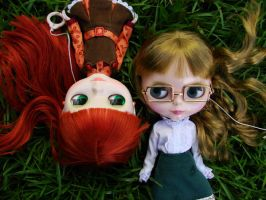Irma and June Color- Blythe by Drewyndara