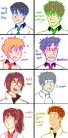 Free! Doodles by quidditchchick004