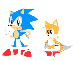 Sonic and Tails Preview Models by FIFE-Productions