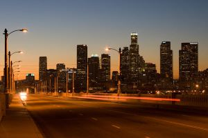 Los Angeles the city of lights by Prymityw