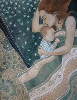 Mother And Child by AnnWeaver
