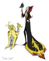 Pitch and Sandy at the Masquerade by Lithe-Fider