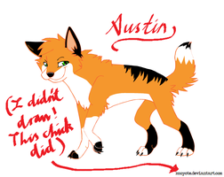 Austin -Addition to the OC x3- by fluffylovey