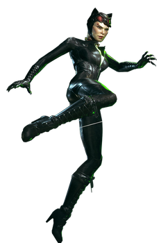 Arkham Knight - Catwoman Render by Spider-Man91
