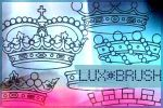 Royal Crown brushes by luxbella