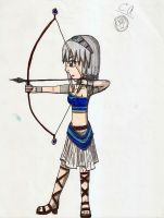 Artemis- Goddess of the Hunt by Ceraisian-Alchemist