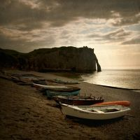 sketches  from Etretat... by Kaarmen