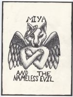 Miya and the nameless evil by blooddragongirl
