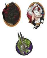 Badgefication::CO:: by Crazy-Voodoo-Lady