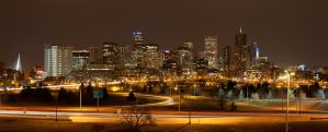 Denver Skyline by simplistic7