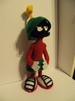 Marvin The Martian Plushie by reluctantdisaster