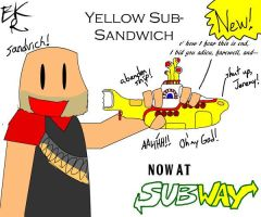 Yellow Sub-Sandvich by BlackRayquaza1