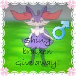 SHINY BRAIXEN GIVEAWAY OPEN by Shiny-braix