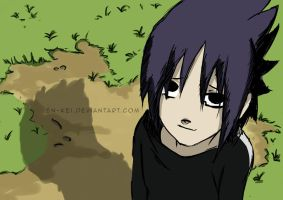 Hello Little Sasuke by undomybackzip