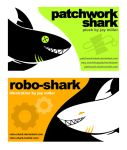 Sharky Cards by Robo-Shark