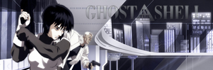 Ghost In The Shell Banner 2 by DakotaBailey
