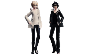 [MMD] Don't You Love It When Couples Match? by RandomAnimeArtist