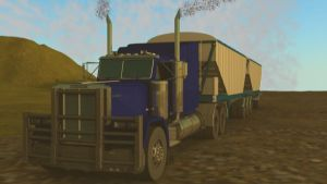 Galossy Truck Road Train by SiathLinux