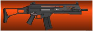 Ichor Industries - G36 Salvage R.A.S. by ZiWeS