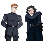 Hux and Kylo by OgroN