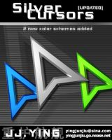Silver Cursors 3D by AnBlues