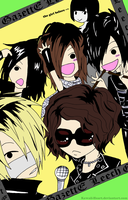 GazettE: Leech by Kawaii-Heart