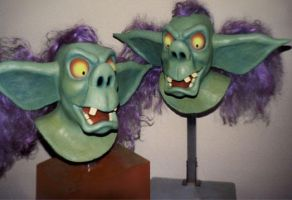 Princess and the Goblin masks by TimBakerFX