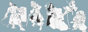 1128 fantasy characters by Pachycrocuta