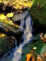 small waterfall by florina23