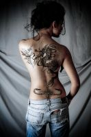 SKIN + INK - I - MUTED by Shireen18