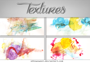Watercolor - Textures by OhHowSweet