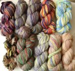 Handspun stash by Snowberrylime